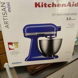 KitchenAid Artisan Mini Stand Mixer 3.5 quart Twilight Blue